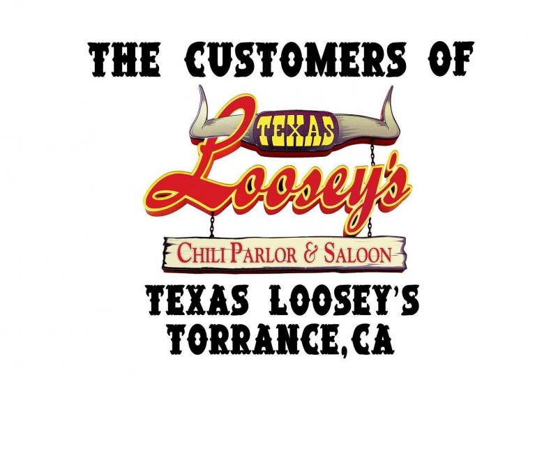 Texas Looseys, Torrance, ask for Lori, 310-540-9799